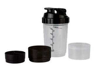 600ml Shaker With Two Bottom Compartments
