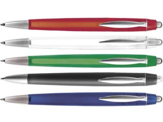 Ballpoint Pen With Coloured Translucent Barrel