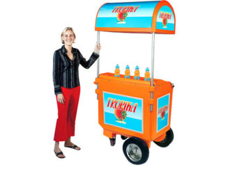 Can Vending Trolley