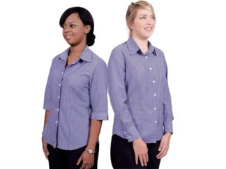 Cotton Rich Fibre Dyed Stripes Ladies Wendy Blouse