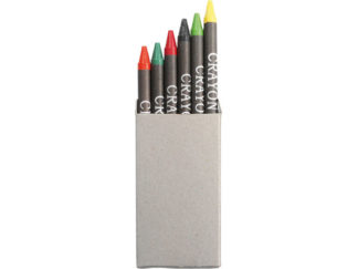 Crayons In Recycled Box - Set Of 6