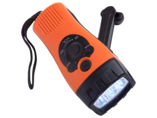 Dynamo LED Torch with Radio and Phone Charger